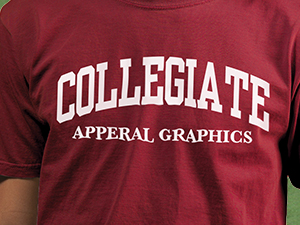 Collegiate Apparel Graphics