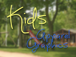 Kids Collegiate Apparel Graphics